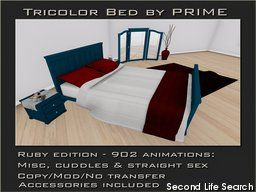 PrimBay - Tricolor Bedroom Ruby by PRIME