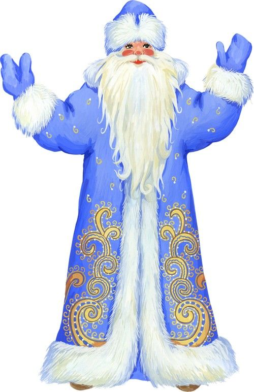 Grandfather Frost Snow Maiden | Grandfather Frost, Santa Claus and Snow Maiden | Дед Мороз ...
