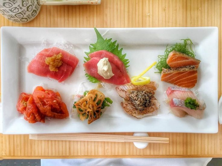 """The Absolute Best Sushi In NYC #refinery29  http://www.refinery29.com/best-sushi-nyc#slide-4  Sushi Of GariRun by renowned Japanese chef, Masatoshi """"Gari"""" Sugio, this sleek Manhattan chain is top notch. With locales in Tribeca, the UES, Columbus Circle, Midtown, and even a spot in Hollywood, Gari is serving up traditional-fresh sushi with a twist — the soy sauce is pre-infused into each piece for optimal flavor notes. <a href=""""http://www.sushiofgari.com/"""" rel=""""..."""