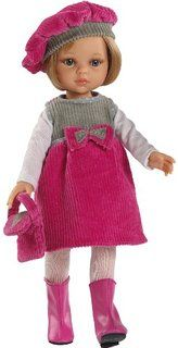 Paola Reina Carla Doll Outfit (Pink and Grey)