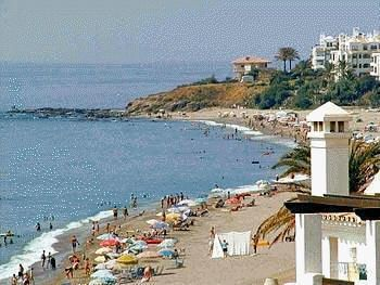 one of the fabulous local beaches Spanish Holidays,Vacation Apartments and Villas  Calahonda Vacations for Malaga.