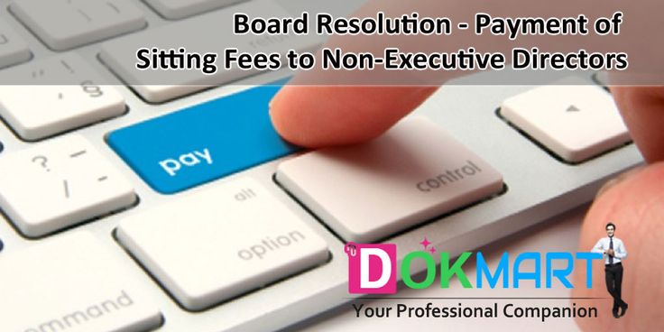 This document consist of draft Board resolution, for payment of sitting fees to Non-Executive Directors, along with Preamble in editable word format making it handy for you to use and save your time and efforts