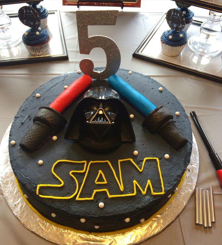 Darth Vader Cake!