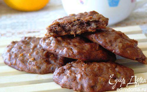 Мягкое банановое печенье с семечками | Кулинарные рецепты от «Едим дома!»