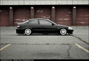 1999 Honda Civic Coupe Custom - http://sickestcars.com/2013/05/20/1999-honda-civic-coupe-custom/