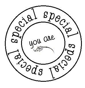 tu eres especial, En la pagina podreis encontrar mas frases bonitas eso si en ingles.