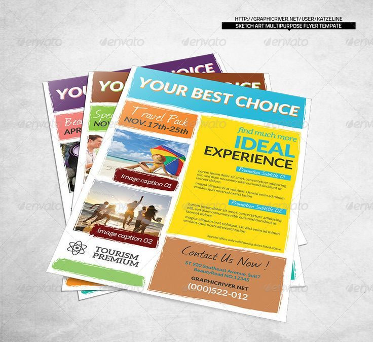 Best Corporate Flyer Photoshop  Indesign Template Images On