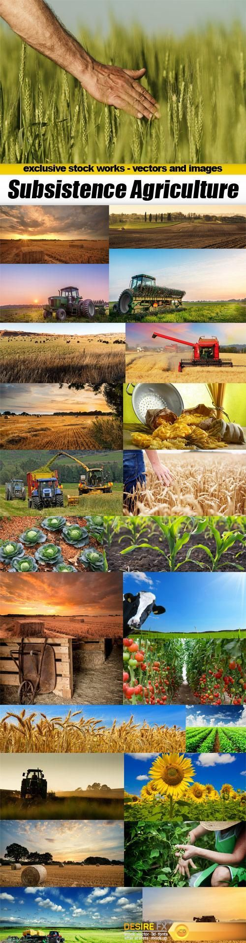Subsistence Agriculture - 25x JPEGs  http://www.desirefx.me/subsistence-agriculture-25x-jpegs/