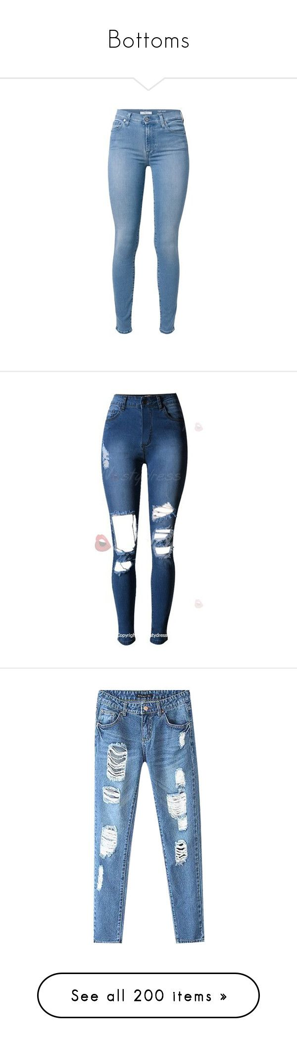 """Bottoms"" by amfaazevedo-gi ❤ liked on Polyvore featuring jeans, pants, bottoms, calças, light blue, skinny fit denim jeans, light blue jeans, blue skinny jeans, skinny fit jeans and skinny jeans"