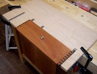 The Village Carpenter: Drawer Planing Jig | See more about Drawers.