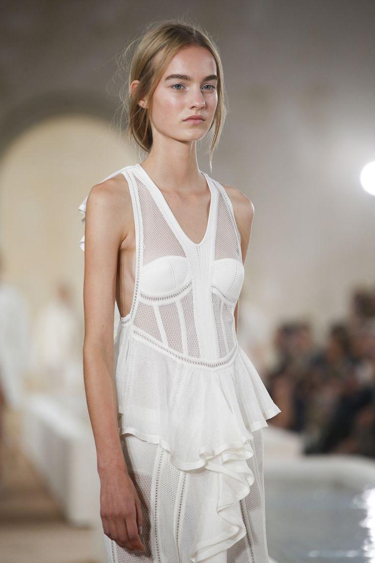 FOR THE BRIDE FROM THE RUNWAY || Balenciaga Spring 2016 Ready-to-Wear Fashion Show || NOVELA BRIDE...where the modern romantics play & plan the most stylish weddings... www.novelabride.com (Instagram: @novelabride)