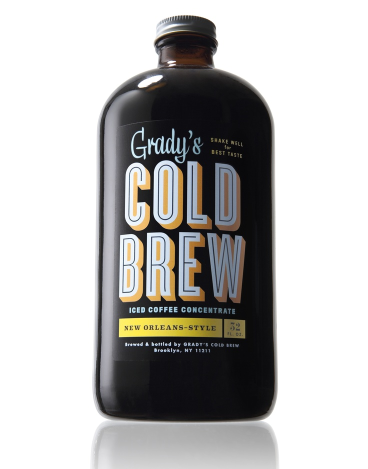 This bottled ice coffee concentrate, which you can buy online at gradyscoldbrew.com, is pre-sweetened with chicory, New Orleans-style, so it's only 10 calories per cup and is sugar-free.