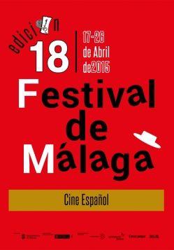 Otro cartel que he presentado al concurso, aunque prefiero el otro.. Para el festival de cine de Málaga, edición 18 (2015). Votaciones en la web del festival.