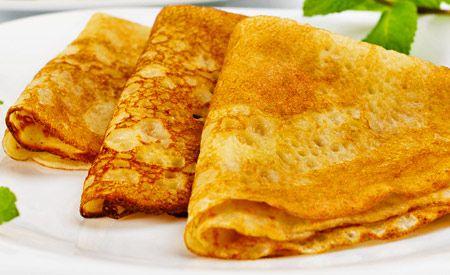 Kichererbsenmehl Pfannkuchen