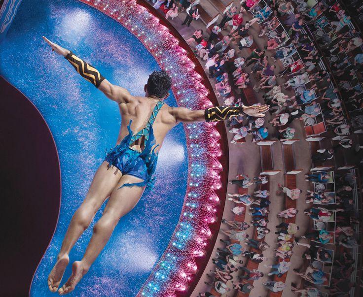 Entertainment - Aqua Theatre on the Harmony of the Seas