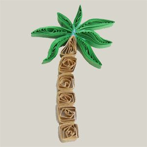 17 best ideas about paper palm tree on pinterest palm for Big quilling designs
