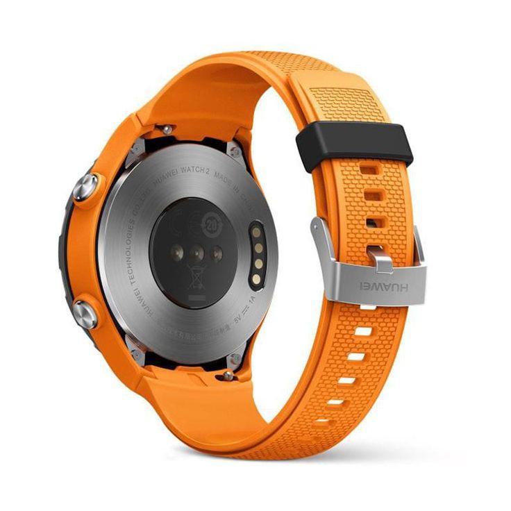 Huawei watch 2 поставляется с датчиком гальванической чувствительности для анализа кожи, а также сбор данных о кислороде, чтобы помочь пользователям оценить и улучшить спортивные результаты.