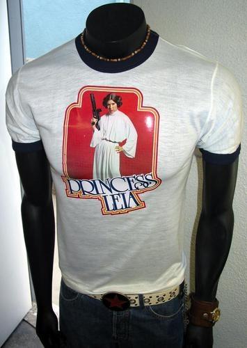 Vtg Star Wars A New Hope 1978 ANH Orig Princess Leia Stormtrooper T