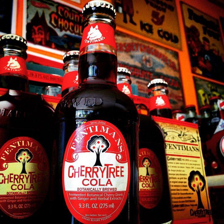 Fentimans delicious Cherry Tree Cola!