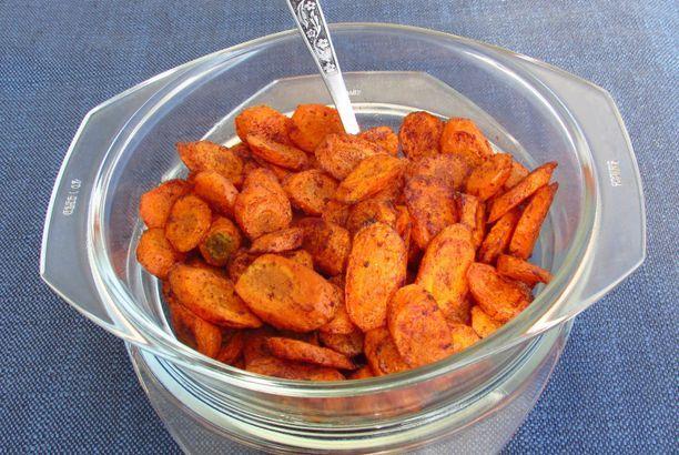 Fűszeres sült sárgarépa