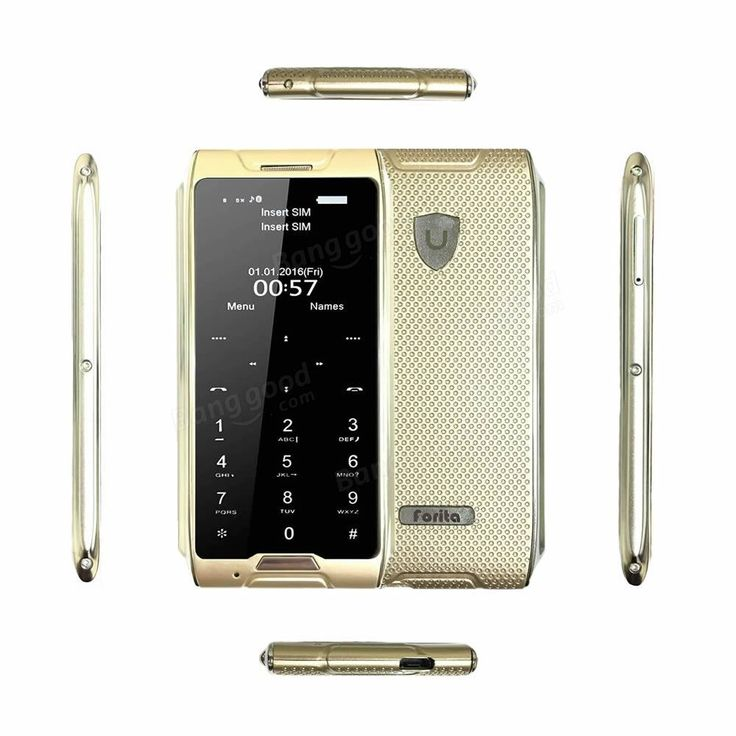 Forita F1 1.63-inch 680mAh Bluetooth Remote Capture Pocket Mini Card Mobile Phone