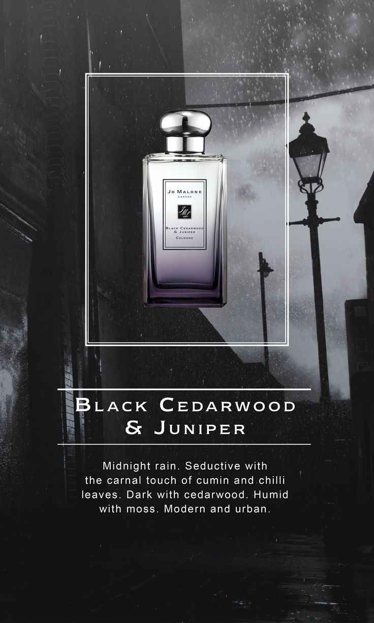 Jo Malone London | Black Cedarwood & Juniper Cologne #London Rain