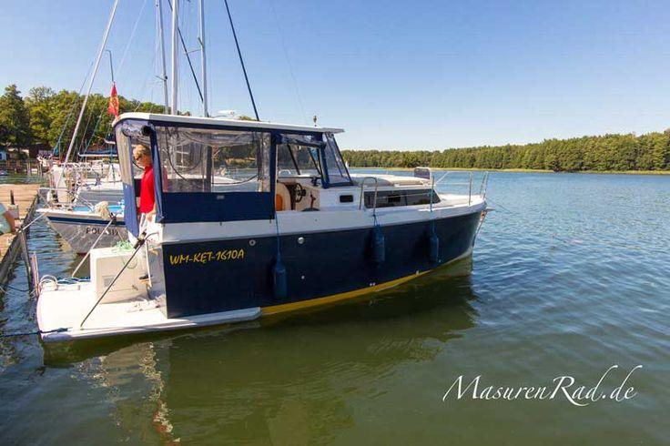 Neues Hausboot in Masuren #bootsurlaub #masuren Bootsferien Masurische Seenplatte Hausbootverleih Masuren