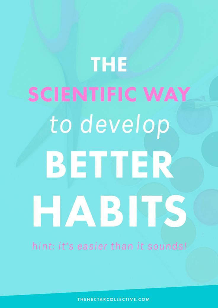 The Scientific Way to Develop Better Habits (Hint: It's Not As Hard As It Sounds) | Struggle with certain bad habits, whether in your personal life, your business, or elsewhere? We're sharing an easy-to-implement process that is backed by research to help you form good habits and break bad ones!
