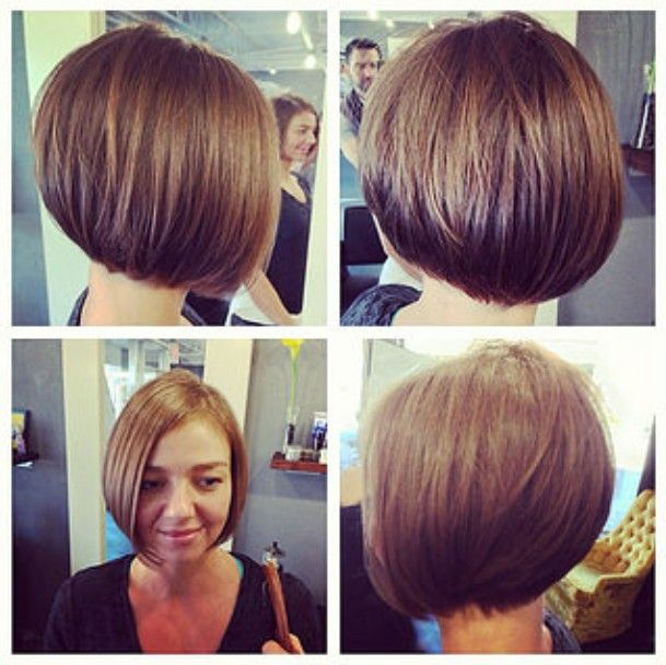 30 Latest Chic Bob Hairstyles for 2017 | Bobs, The back ...
