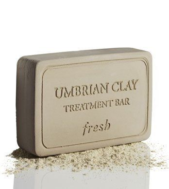 """Fresh Umbrian Clay Treatment Bar 7.1 oz (198.8 g) by Fresh. $36.10. Umbrian Clay Treatment Bar is a multi-functional treatment composed of 100% """"argilla bianca,"""" the rare and ancient alkaline-rich earth from the hills of Umbria.Key Ingredients:Alkalinity corrects imbalance and neutralizes rednessMineral-rich, anti-inflammatory and absorbentCalms irritations from acne, rosacea and ingrown hairs to eczema, insect bites and diaper rashSuitable for all skin types: ..."""