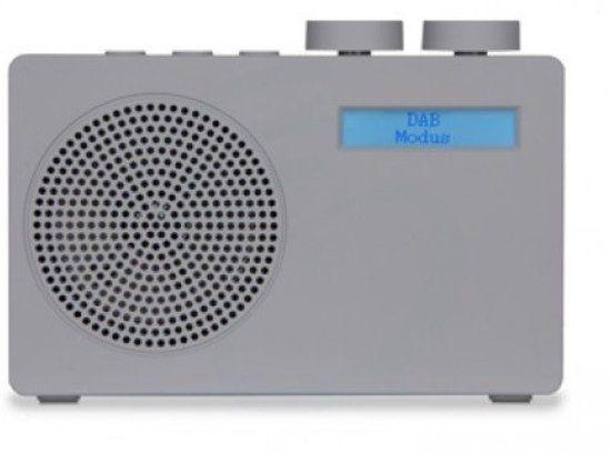 Akai ADB10GY - Portable DAB+ radio - Grijs