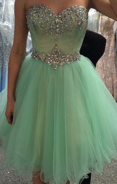 Sweetheart Graduation Dress, Homecoming Dress