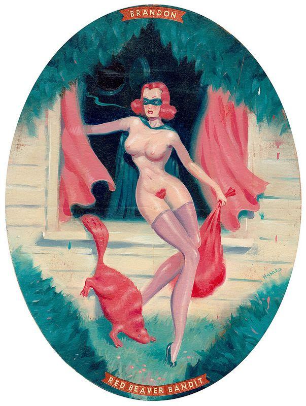"Preview: Ryan Heshka's ""Romance of Canada"" at Antonio Colombo Arte Contemporanea | Hi-Fructose Magazine"