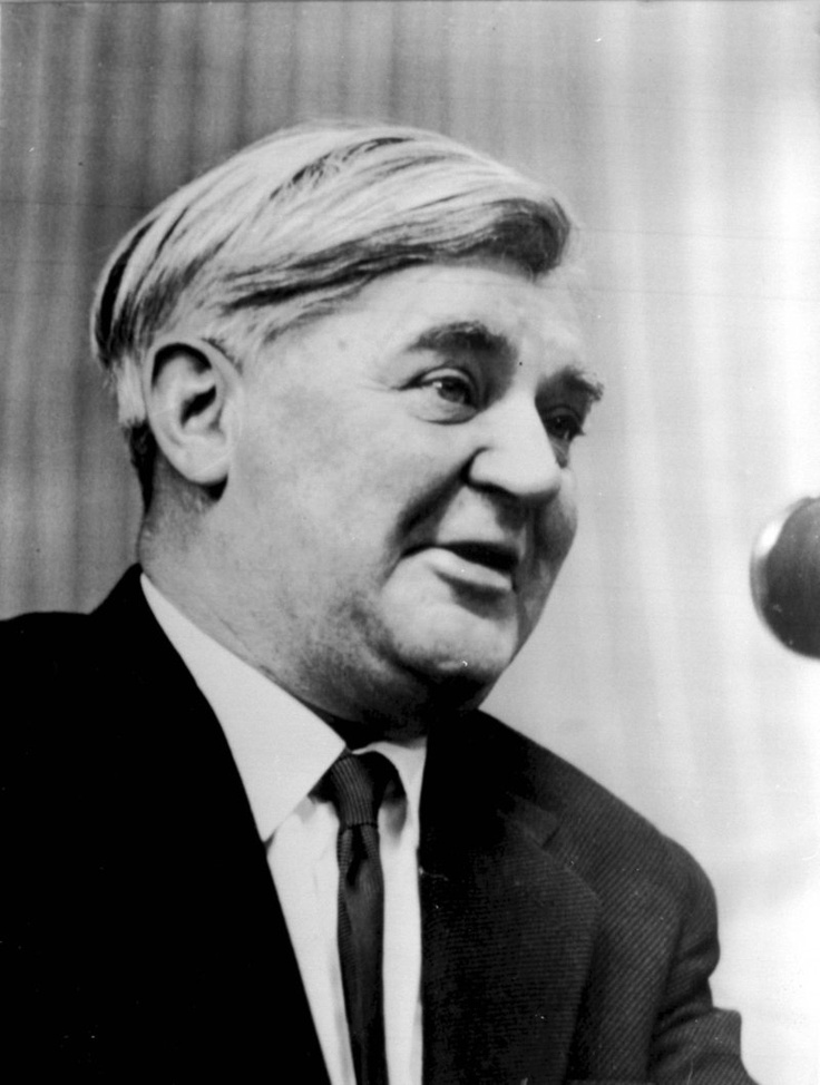 Nye Bevan -- a Welshman, a Socialist, and founder of the National Health Service.