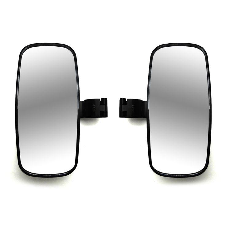 "1 set 2"" Clamp Side View Mirrors UTV Rearview Mirror for Polaris RZR XP1000 XP 900 RZR 800 RACE For Can Am Maverick Commander #Affiliate"