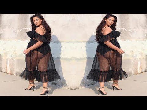 ba67fabda7a Women s Fashionable Curve Clothes - Trendy Plus Size Fashion Outfit Ideas -  YouTube