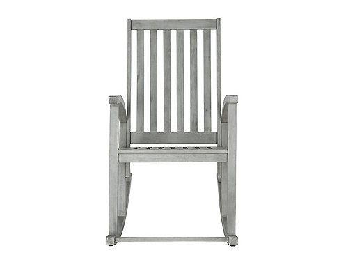 The Clayton outdoor rocking chair updates a time-honored porch classic with contemporary bentwood sides. Plus, the rocker is crafted from acacia wood, ensuring long-lasting beauty and durability.