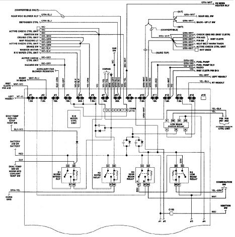 BMW 325i E30 Wiring Diagram