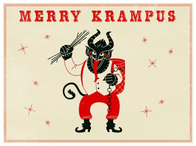 Who is Krampus? The legend of Santa's evil sidekick. As seen in the 2013 Grimm Christmas series. You better watch out, you better not cry, the evil Krampus