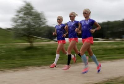 Estonia's Olympic triplets