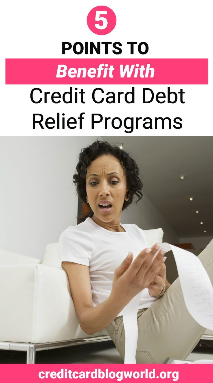 5 Points to Benefit with Credit Card Debt Relief Programs. If you have a credit …