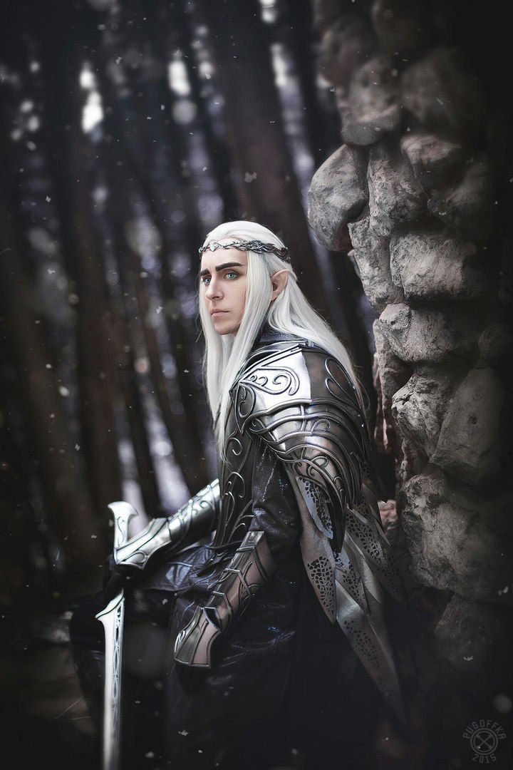 Thranduil - The Hobbit 3 cosplay by Сергей Славянинов  photo by PUGOFFKA