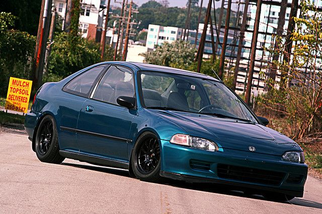14. Honda Civic, Mine was a red 1994. This car really turned me around. I got it for a little of nothing. Put a little of money in it and sold it for a little of something... Wish I had it right now.