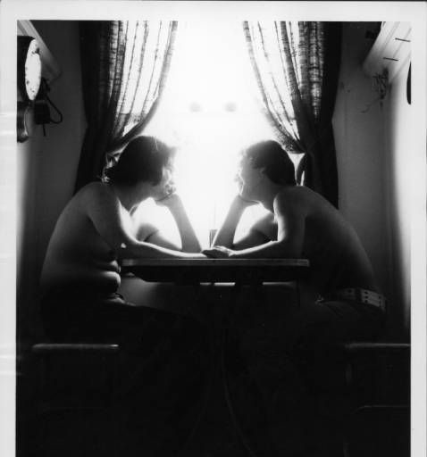 Two lovers holding hands :: ONE National Gay and Lesbian Archives