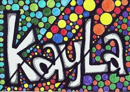 Artsonia Art Museum :Les élèves pourront écrire leur nom d'une façon encor plus éclatantee!!
