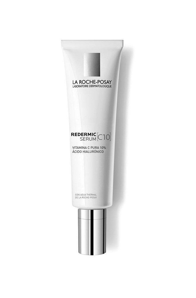 Primer sérum dermatológico antiedad de La Roche-Posay con 10% de Vitamina C Pura y Ácido Hialurónico. Eficaz contra las arrugas, pérdida de firmeza y luminosidad, con una tolerancia óptima.