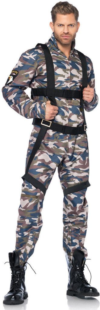 paratrooper adult costume | (large) style #0355