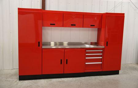 Garage Cabinets, Metal Garage Storage Cabinets: Aluminum Metal