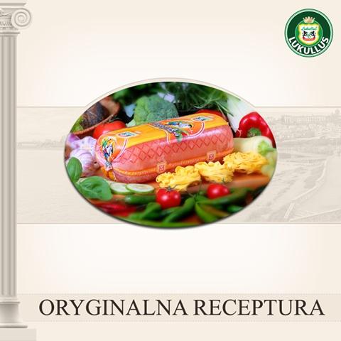 Oryginalna receptura wyrobów Lukullus, to gwarancja dobrego smaku i udanej uczty!
