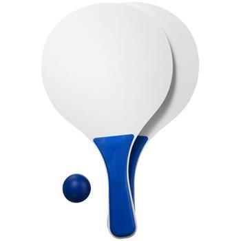Gioco da spiaggia Matira. 2 racchette mod.10026700 e una pallina di gomma per giocare in spiaggia. Legno.